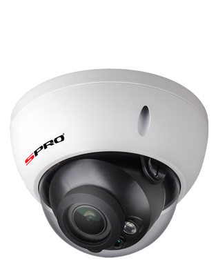 SPRO 2MP 4in1 Varifocal Lens Vandal Resistant Dome