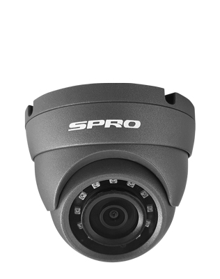 SPRO 5MP 4in1 Fixed Lens Turret