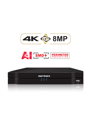 SPRO B6 8MP 4 Channels 5in1with AI