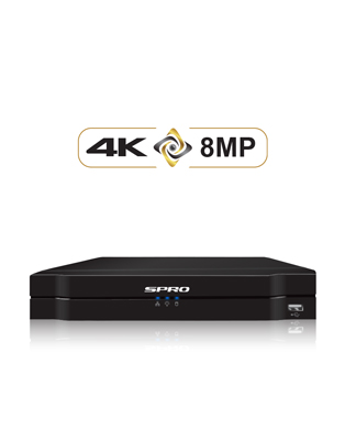 SPRO A3 4 Channel 8MP NVR
