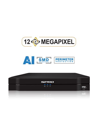 SPRO A4 4 Channel 8MP NVR