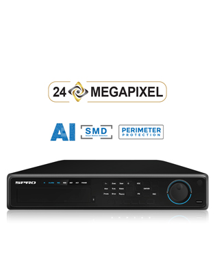 SPRO 4K 32 Channel 12MP IP NVR