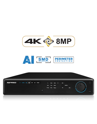 SPRO A3 32 Channel 8MP NVR