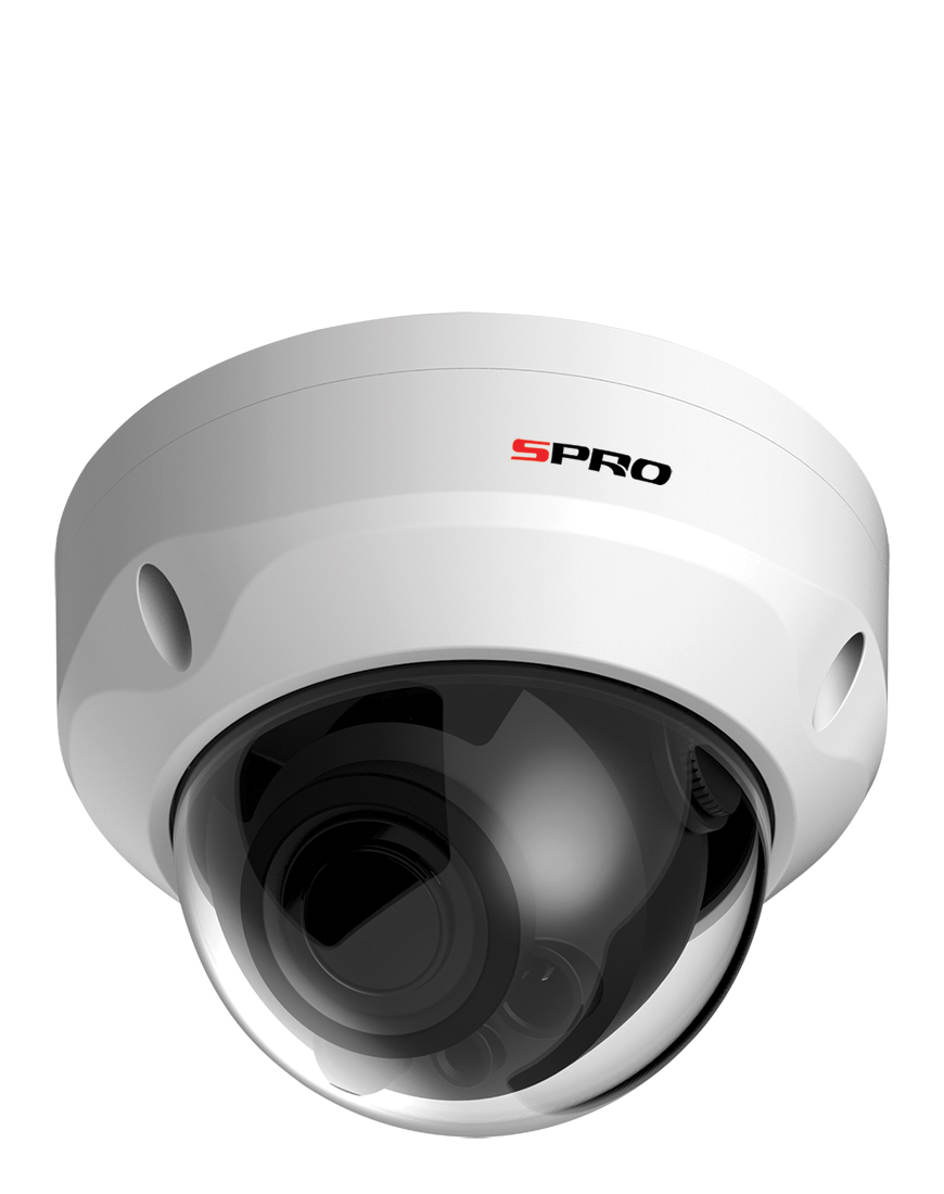 SPRO 5MP 4in1 Fixed Lens Vandal Resistance Dome