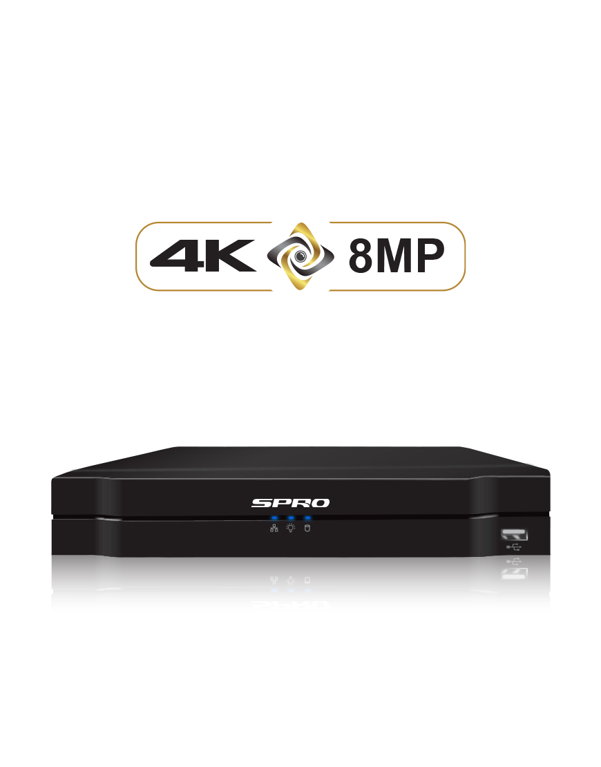 SPRO A3 8 Channel 8MP NVR