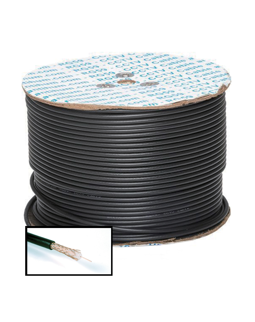 RG59, 100m Coaxial Cable